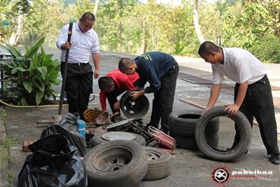 Program Gotong Royong 5S: Fasa SISIH & SUSUN - 11/02/2012