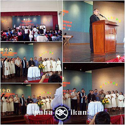 Hari Ulang Tahun Ke-2 Diosis Sandakan di Holy Trinity Tawau - 17 Oct